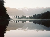 Winter: Lake Matheson