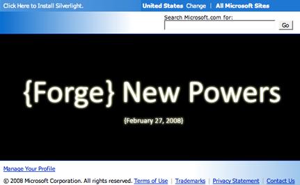 Microsoft Opensourceheroes.com, nicht wirklich das Ding, wird aber auch am 27.2. vorgestellt.