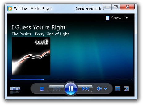 Lightweight Windows Media Player