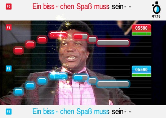 (c) Sony, RobertoBlanco in Singstar :-(