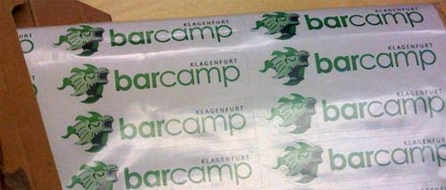 BarCamp-Sticker